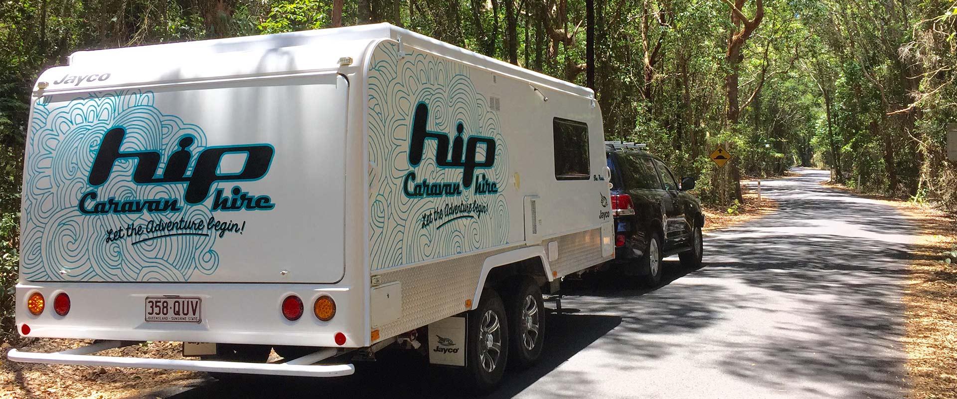 hook up and go caravan hire